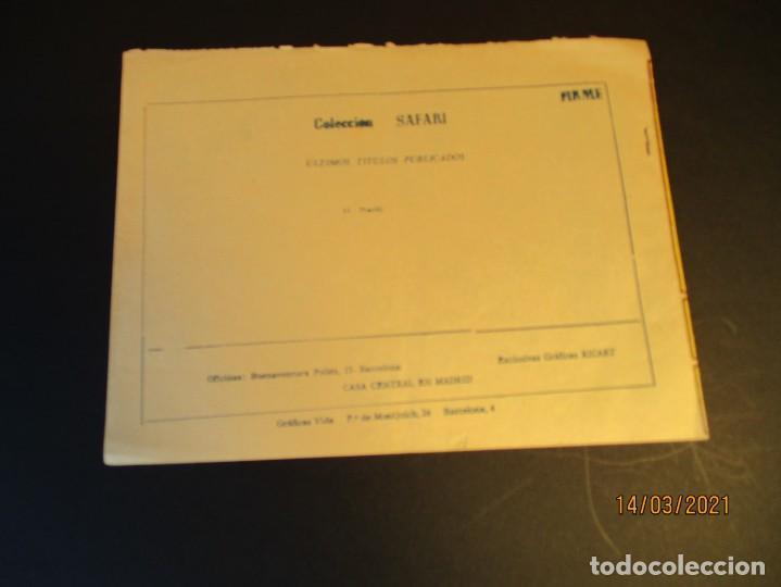 Tebeos: SAFARI (1965, RICART) 11 · 14-IV-1965 · MARFIL - Foto 3 - 247785740