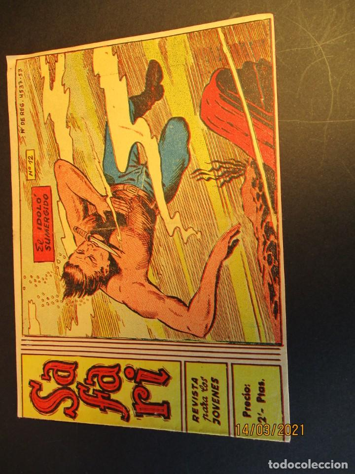 SAFARI (1965, RICART) 12 · 21-IV-1965 · EL ÍDOLO SUMERGIDO (Tebeos y Comics - Ricart - Safari)
