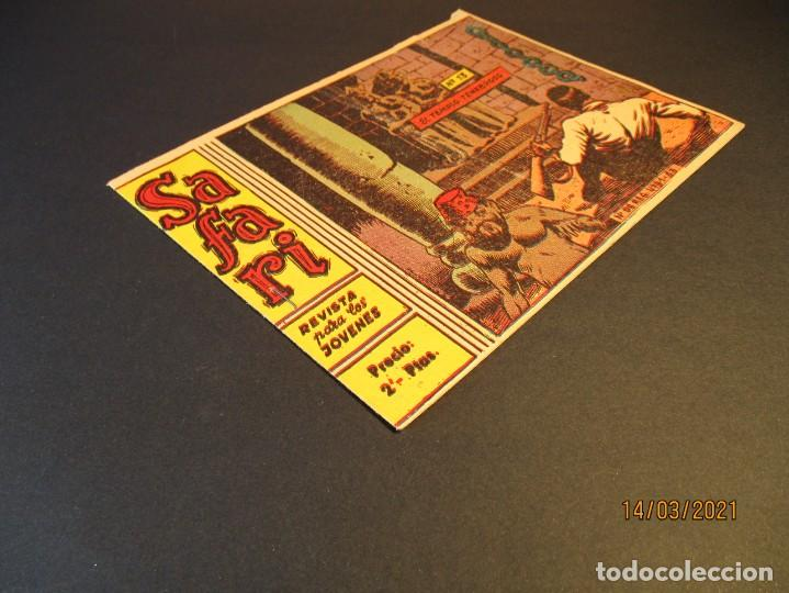 Tebeos: SAFARI (1965, RICART) 13 · 28-IV-1965 · EL TEMPLO TENEBROSO - Foto 2 - 247787090