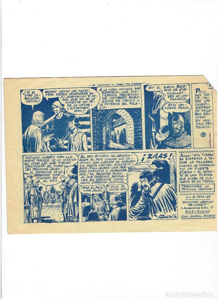 Tebeos: Archivo * FLECHA Y ARTURO * Nº 22 * ORIGINAL DE 2 PTAS * ED. RICART 1965 * - Foto 2 - 251433325