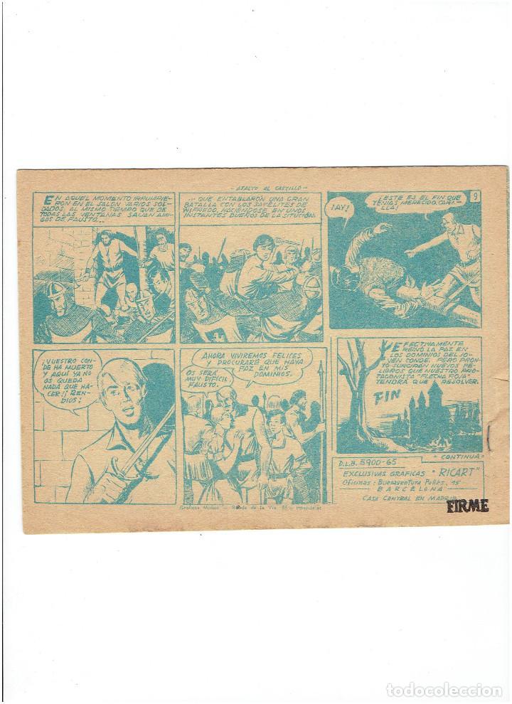 Tebeos: * FLECHA Y ARTURO * Nº 4 * ORIGINAL DE 3 PTAS * ED. RICART 1966 * - Foto 2 - 251434305