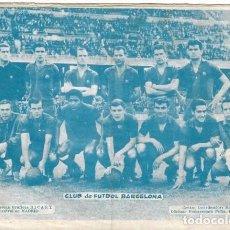 Tebeos: SELECCIONES DE GUERRA Nº 9: CON FOTO DEL BARÇA 1962-63. Lote 252511245