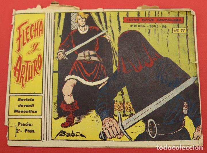 FLECHA Y ARTURO Nº 11 LUCHA ENTRE FANTASMAS (Tebeos y Comics - Ricart - Flecha y Arturo)