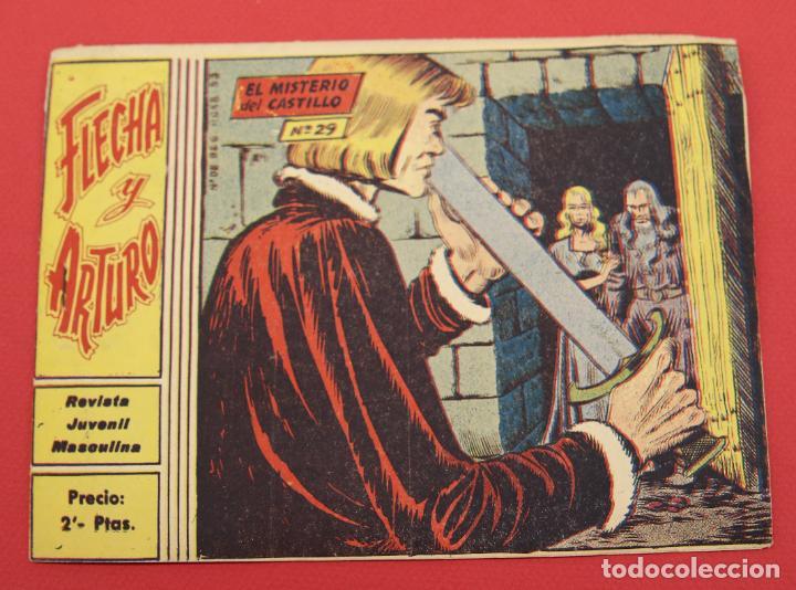 FLECHA Y ARTURO Nº 29: EL MISTERIO DEL CASTILLO (Tebeos y Comics - Ricart - Flecha y Arturo)
