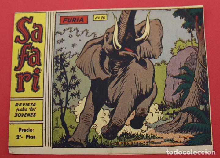 SAFARI N° 16 -FURIA RICART ORIGINAL (Tebeos y Comics - Ricart - Safari)
