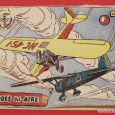 Tebeos: COLECCIÓN AVENTURAS DEPORTIVAS HÉROES DEL AIRE. Nº11. 1957 RICART ORIGINAL. Lote 253640180