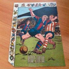 Tebeos: ASES DEL DEPORTE BASORA F.C. BARCELONA (RICART) ORIGINAL (COIB6). Lote 254202965