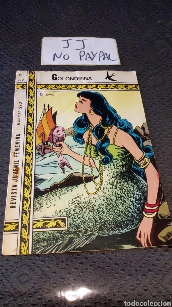 REVISTA JUVENIL FEMENINA COLECCIÓN GOLONDRINA 272 (Tebeos y Comics - Ricart - Golondrina)