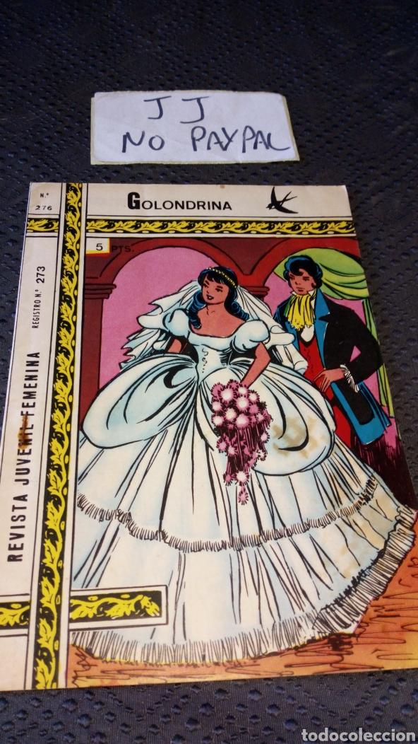 REVISTA JUVENIL FEMENINA COLECCIÓN GOLONDRINA 276 (Tebeos y Comics - Ricart - Golondrina)
