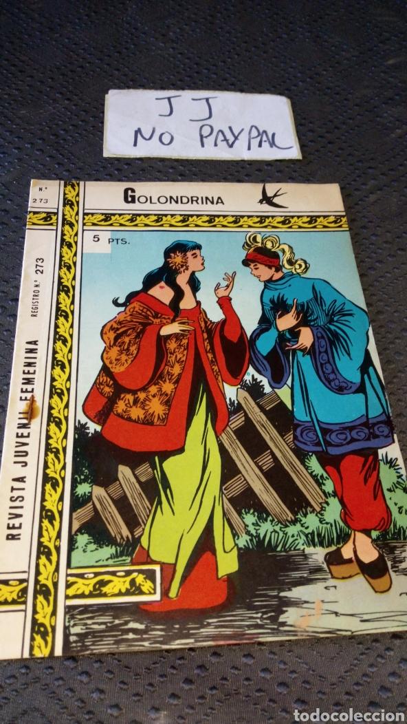 REVISTA JUVENIL FEMENINA COLECCIÓN GOLONDRINA 273 (Tebeos y Comics - Ricart - Golondrina)