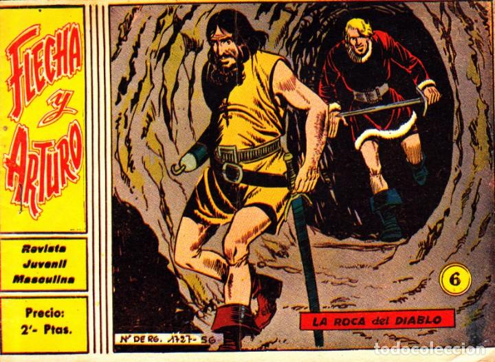 COMIC COLECCION FLECHA Y ARTURO Nº 6 (Tebeos y Comics - Ricart - Flecha y Arturo)