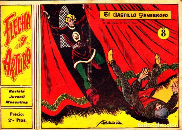 COMIC COLECCION FLECHA Y ARTURO Nº 8 (Tebeos y Comics - Ricart - Flecha y Arturo)