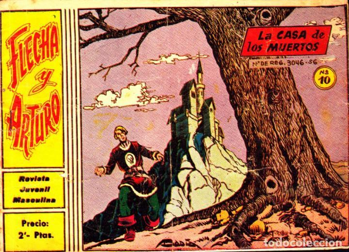 COMIC COLECCION FLECHA Y ARTURO Nº 10 (Tebeos y Comics - Ricart - Flecha y Arturo)