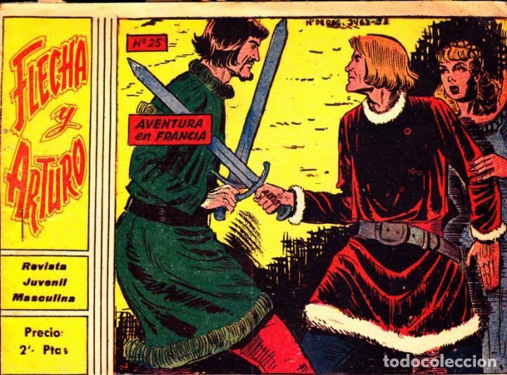 COMIC COLECCION FLECHA Y ARTURO Nº 25 (Tebeos y Comics - Ricart - Flecha y Arturo)
