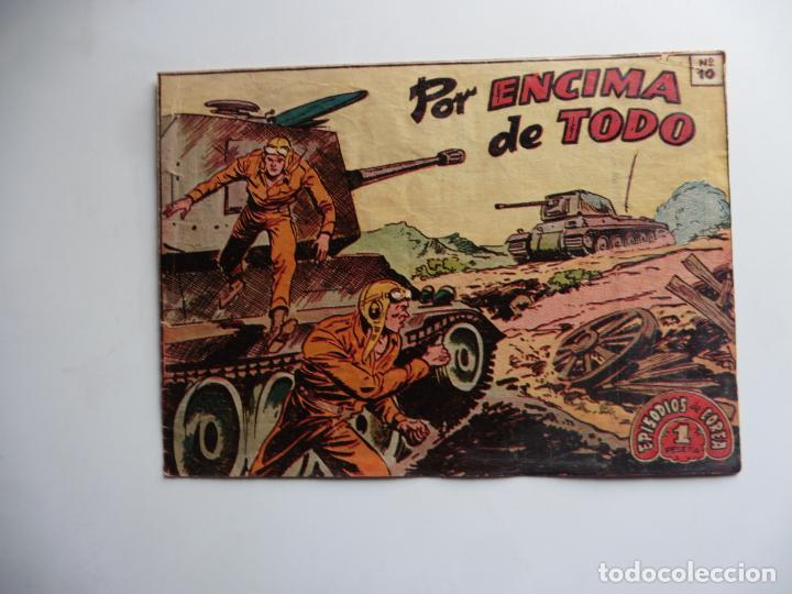 EPISODIOS DE COREA Nº 10 1952 RICART (Tebeos y Comics - Ricart - Otros)