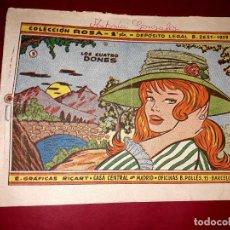 Livros de Banda Desenhada: CUENTO LOS CUATRO DONES COLECCIÓN ROSA Nº 3 RICART 1961. Lote 260319495
