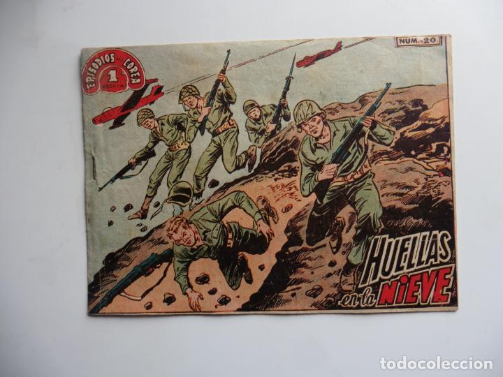 EPISODIOS DE COREA Nº 20 1952 RICART (Tebeos y Comics - Ricart - Otros)