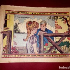 Livros de Banda Desenhada: CUENTO LA SUERTE DE ROBERTO COLECCIÓN ROSA Nº 41 RICART 1961. Lote 260319940