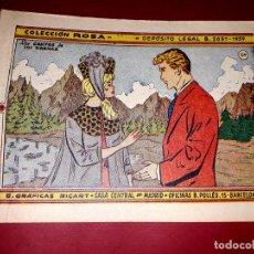 Livros de Banda Desenhada: CUENTO LOS CANTOS DE LAS SIRENAS COLECCIÓN ROSA Nº 54 RICART 1961. Lote 260320960