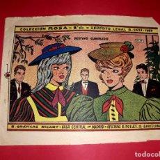 Livros de Banda Desenhada: DESTINO CUMPLIDO COLECCIÓN ROSA Nº 27 RICART 1961. Lote 260372795
