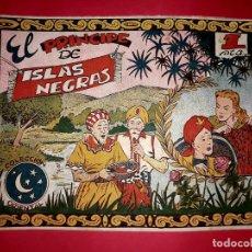 Tebeos: CUENTO EL PRINCIPE DE ISLAS NEGRAS COLECCIÓN ORIENTAL Nº 7 RICART 1950 MUY DIFÍCIL. Lote 260503695