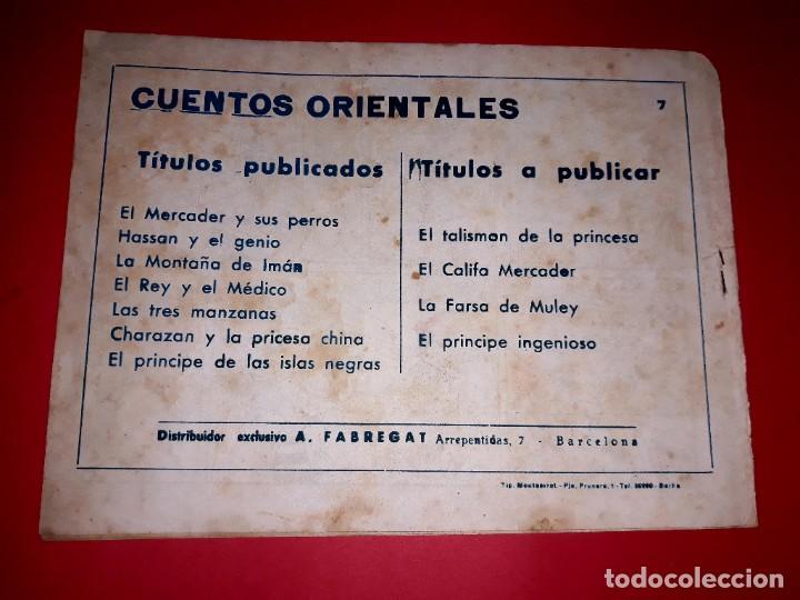 Tebeos: Cuento El Principe de Islas Negras Colección Oriental Nº 7 Ricart 1950 Muy Difícil - Foto 3 - 260503695