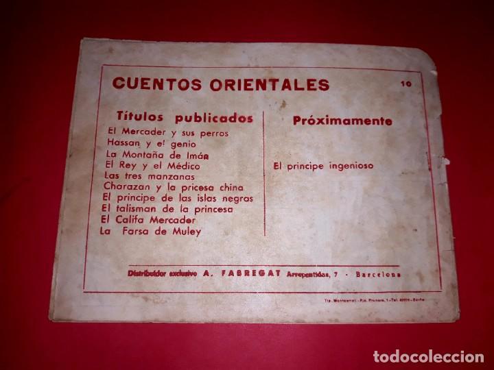 Tebeos: Cuento La Farsa de Muley Colección Oriental Nº 10 Ricart 1950 Muy Difícil - Foto 3 - 260505025