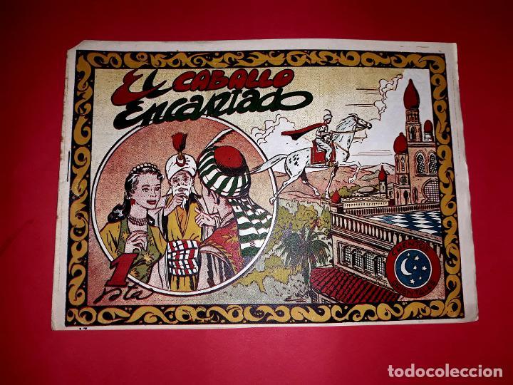 CUENTO EL CABALLO ENCANTADO COLECCIÓN CUENTOS ORIENTALES Nº 17 RICART 1950 MUY DIFÍCIL (Tebeos y Comics - Ricart - Otros)