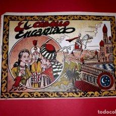 Tebeos: CUENTO EL CABALLO ENCANTADO COLECCIÓN CUENTOS ORIENTALES Nº 17 RICART 1950 MUY DIFÍCIL. Lote 260507530