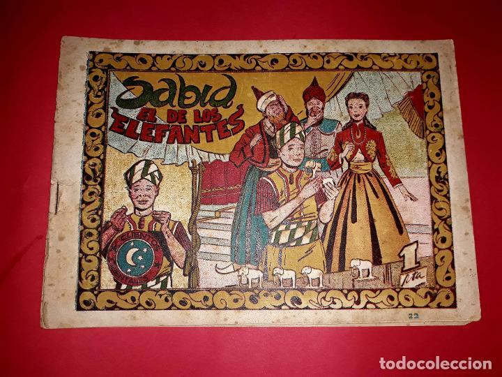 CUENTO SABID EL DE LOS ELEFANTES COLECCIÓN CUENTOS ORIENTALES Nº 22 RICART 1950 MUY DIFÍCIL (Tebeos y Comics - Ricart - Otros)