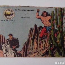 BDs: TEBEO COMIC ORIGINAL WINCHESTER JIM EL FIN DE UN TRAIDOR Nº 27. Lote 264468289