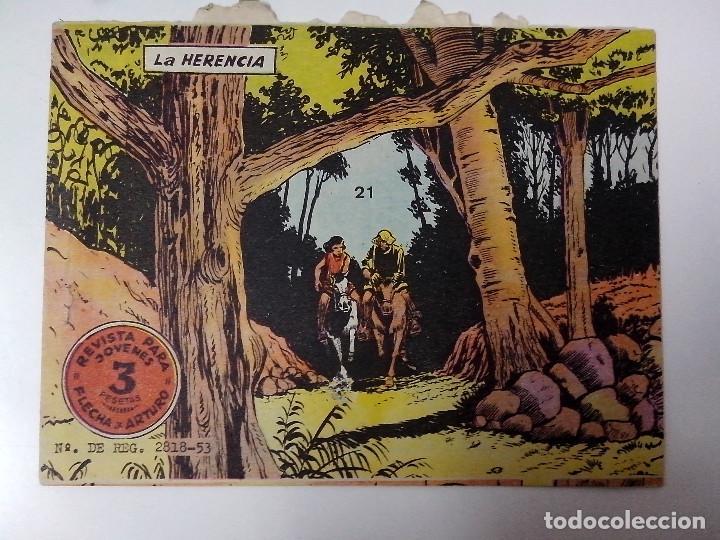 TEBEO FLECHA Y ARTURO Nº 21 LA HERENCIA (Tebeos y Comics - Ricart - Flecha y Arturo)
