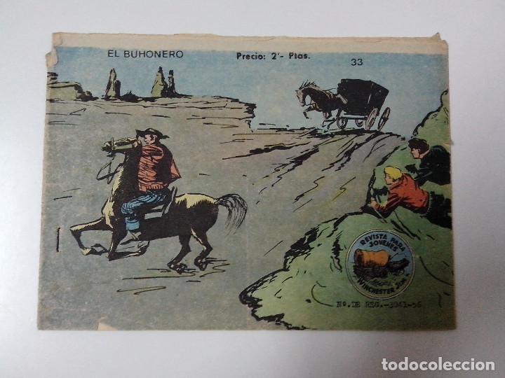 TEBEO WINCHESTER JIM Nº 33 EL BUHONERO (Tebeos y Comics - Ricart - Otros)