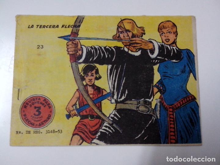 TEBEO FLECHA Y ARTURO Nº 23 LA TERCERA FLECHA (Tebeos y Comics - Ricart - Otros)