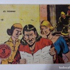 BDs: TEBEO FLECHA Y ARTURO Nº 18 EL TESORO. Lote 267293749