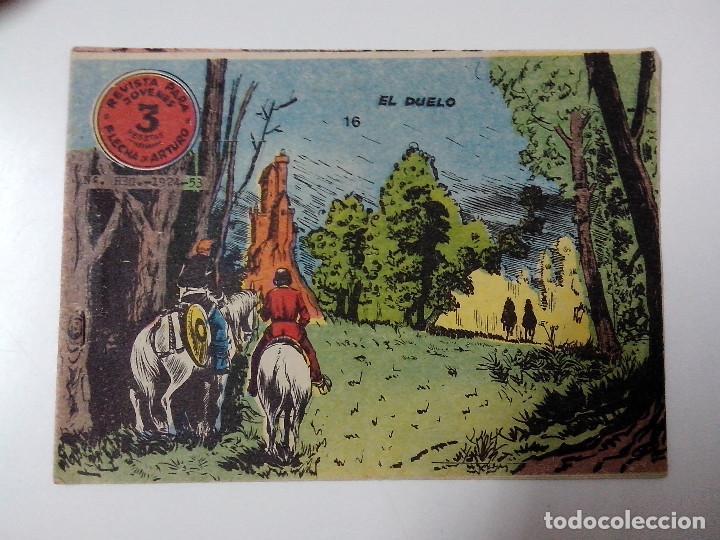 TEBEO FLECHA Y ARTURO Nº 16 EL DUELO (Tebeos y Comics - Ricart - Otros)