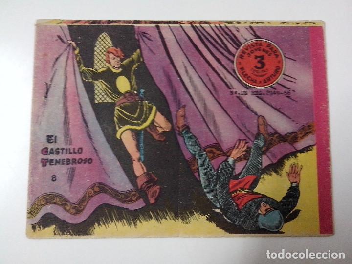 TEBEO FLECHA Y ARTURO Nº 8 EL CASTILLO TENEBROSO (Tebeos y Comics - Ricart - Otros)