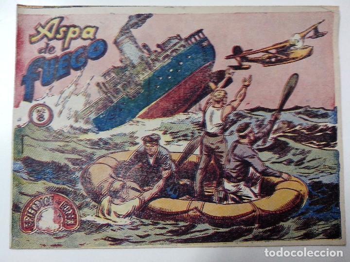 TEBEO EPIDODIOS DE COREA Nº 8 ASPA DE FUEGO (Tebeos y Comics - Ricart - Otros)