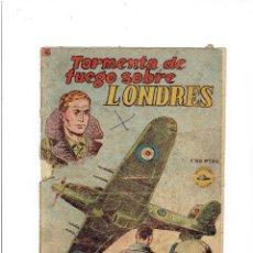 Tebeos: ARCHIVO * SELECCIONES DE GUERRA * Nº 22 * TORMENTA DE FUEGO SOBRE LONDRES * RICART 1952 *. Lote 267528979