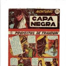 Tebeos: ARCHIVO * CAPA NEGRA * Nº 9 DE GRAFICAS RICART 1953 *. Lote 267530639