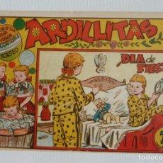Tebeos: ARDILLITAS Nº 1 GRAFICAS RICART, CON RECORTABLE, 1950. Lote 267646079