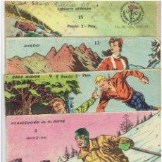 Tebeos: * AVENTURAS DEPORTIVAS * Nº 4, 9, 12, 15, DE 2 PTAS.* EXCLUSIVAS GRÁFICAS RICART 1965 *. Lote 267679644