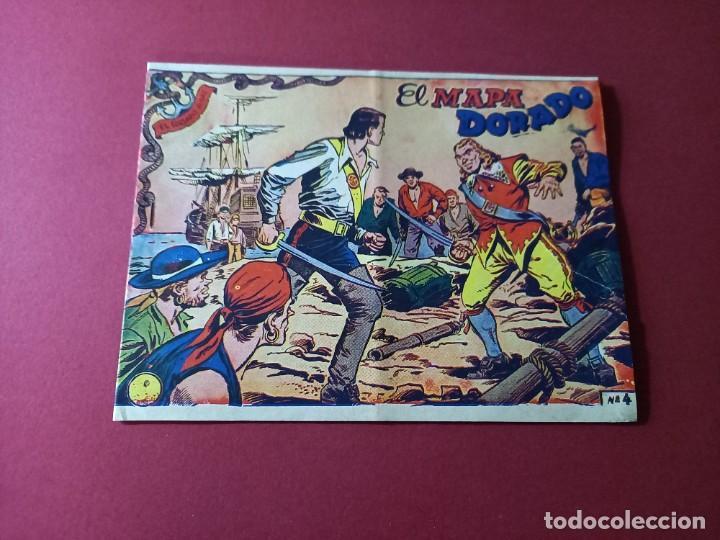 EL CORSARIO AUDAZ Nº 4 ORIGINAL (Tebeos y Comics - Ricart - Otros)