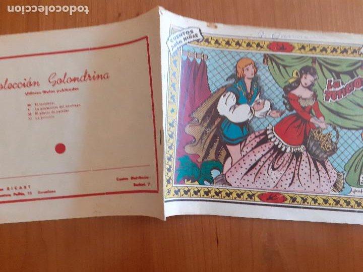 Tebeos: Colección Golondrina Nº 53. La petición. Ricart. Normal estado - Foto 2 - 268878444