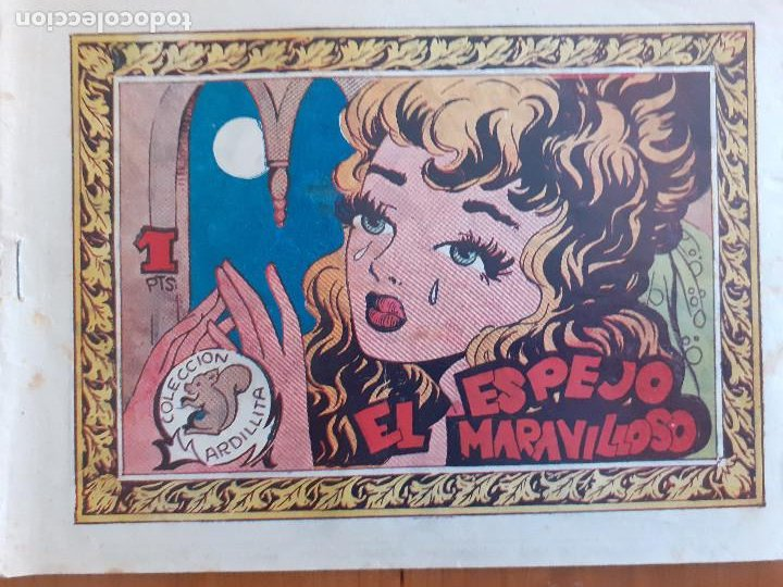 COLECCIÓN ARDILLITA Nº 95. EL ESPEJO MARAVILLOSO. RICART. NORMAL ESTADO (Tebeos y Comics - Ricart - Otros)