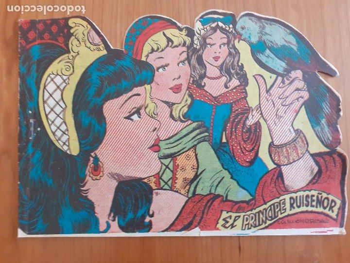 COLECCIÓN ROSAS Nº 157. EL PRÍNCIPE RUISEÑOR. TROQUELADO. EDITA RICART (Tebeos y Comics - Ricart - Otros)