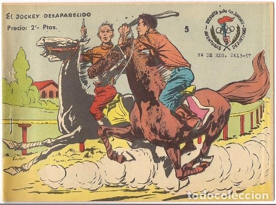 RICART. 5. AVENTURAS DEPORTIVAS 1965 REEDICION. (Tebeos y Comics - Ricart - Aventuras Deportivas)