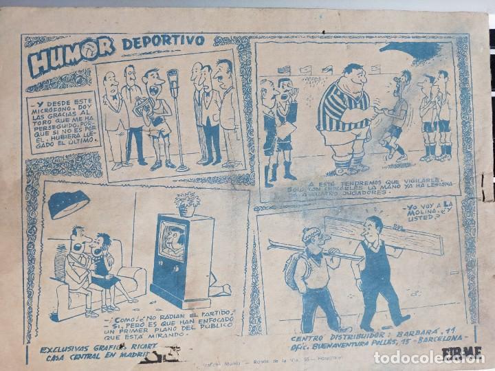 Tebeos: COLECCIÓN AVENTURAS DEPORTIVAS. PARTIDO DECISIVO. Nº 10 Ricart ORIGINAL - Foto 2 - 273176843