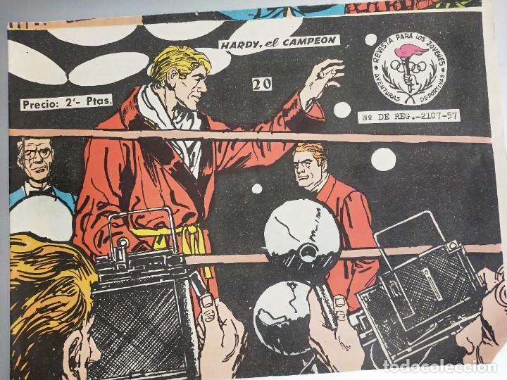 AVENTURAS DEPORTIVAS Nº 20 / HARDY, EL CAMPEON / RICART 2 PESETAS (Tebeos y Comics - Ricart - Aventuras Deportivas)
