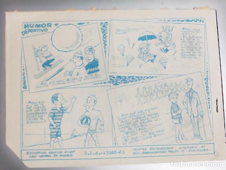 Tebeos: AVENTURAS DEPORTIVAS. Revista para los jóvenes 19. GANCHO DE IZQUIERDA Ricart, 1957 - Foto 2 - 273192148